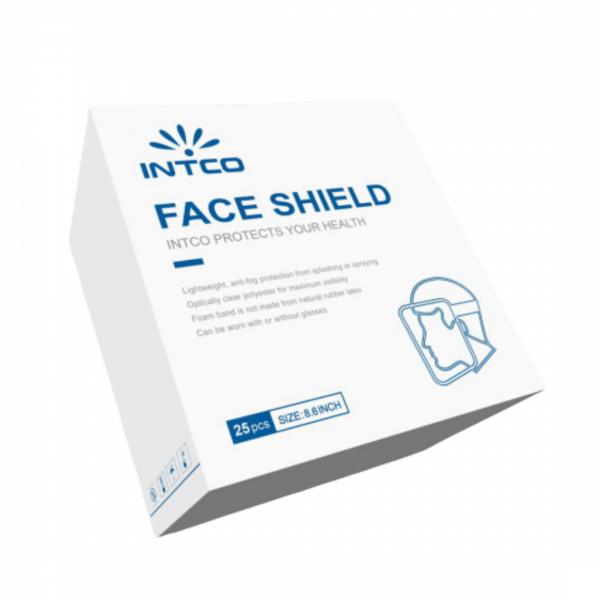 25pc Face Shield Box